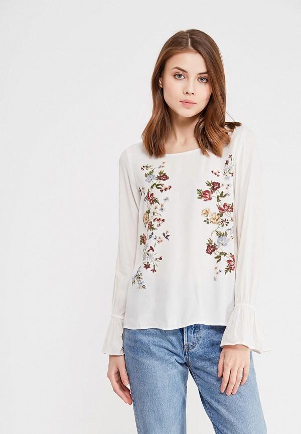 Купить Блуза Springfield, SP014EWAGMU7, белый, Весна-лето 2018