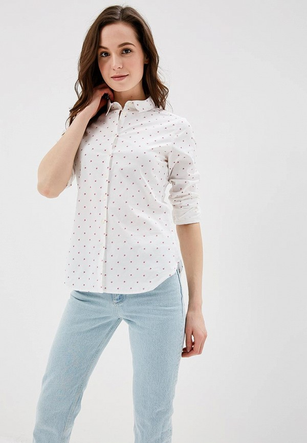 Купить Рубашка Springfield, sp014ewagmv4, белый, Весна-лето 2018