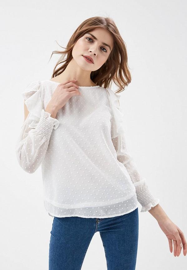 Купить Блуза Springfield, SP014EWAGMW1, белый, Весна-лето 2018
