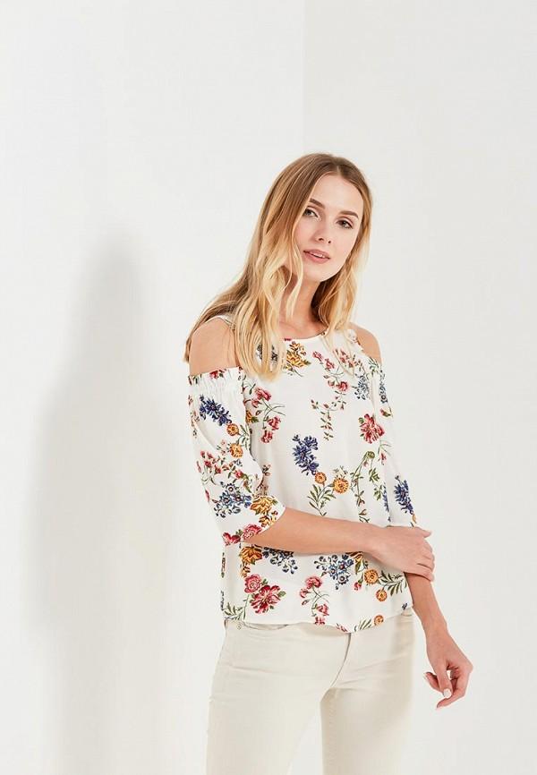 Купить Блуза Springfield, SP014EWAGMW3, белый, Весна-лето 2018