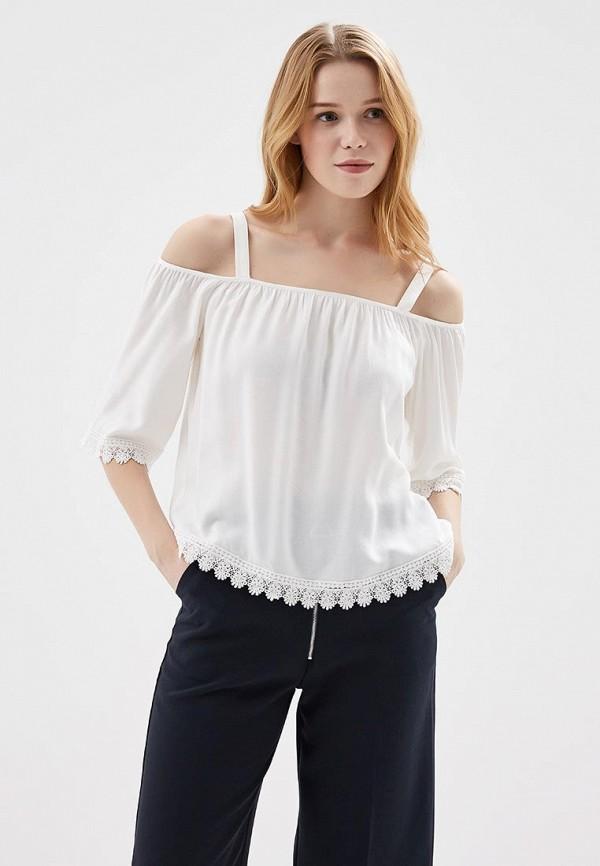 Купить Блуза Springfield, SP014EWAGMW7, белый, Весна-лето 2018