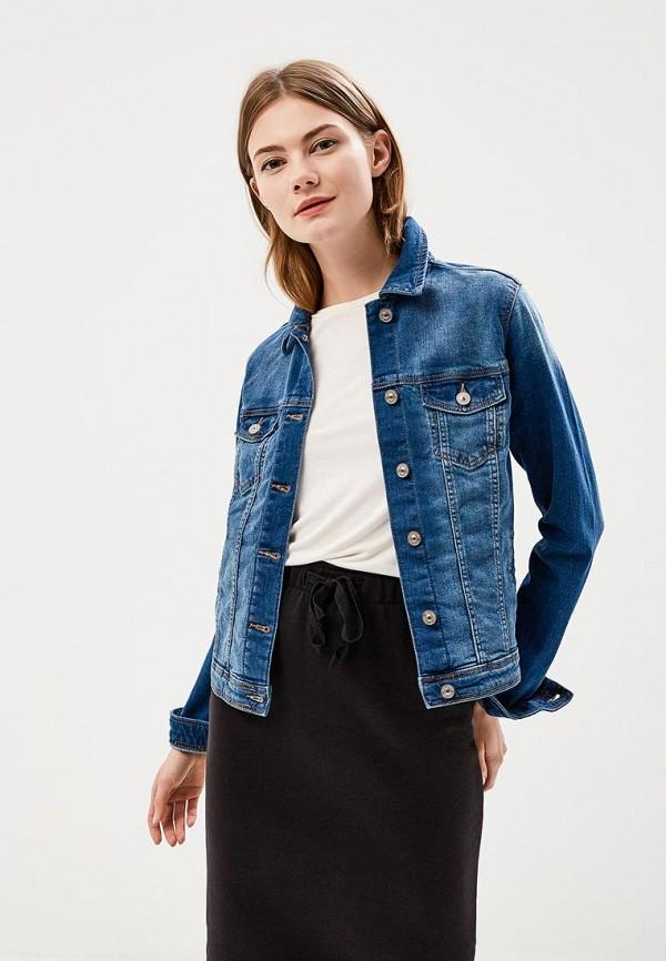 Купить Куртка джинсовая Springfield, sp014ewagnc3, синий, Весна-лето 2018