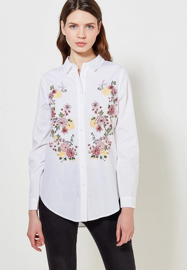 Купить Рубашка Springfield, sp014ewailm9, белый, Весна-лето 2018