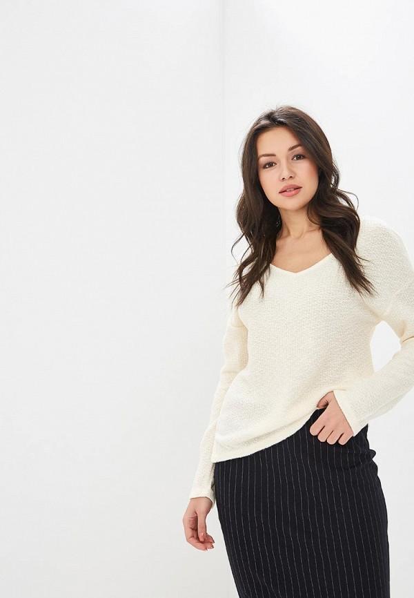 женский пуловер springfield, бежевый