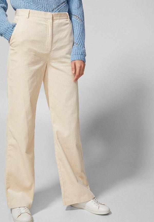 женские повседневные брюки springfield, бежевые