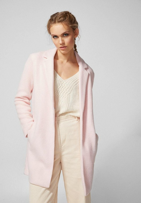 женский жакет springfield, розовый