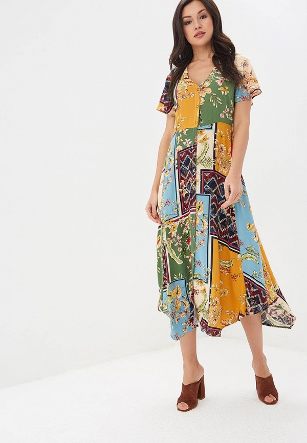женское повседневные платье springfield, разноцветное