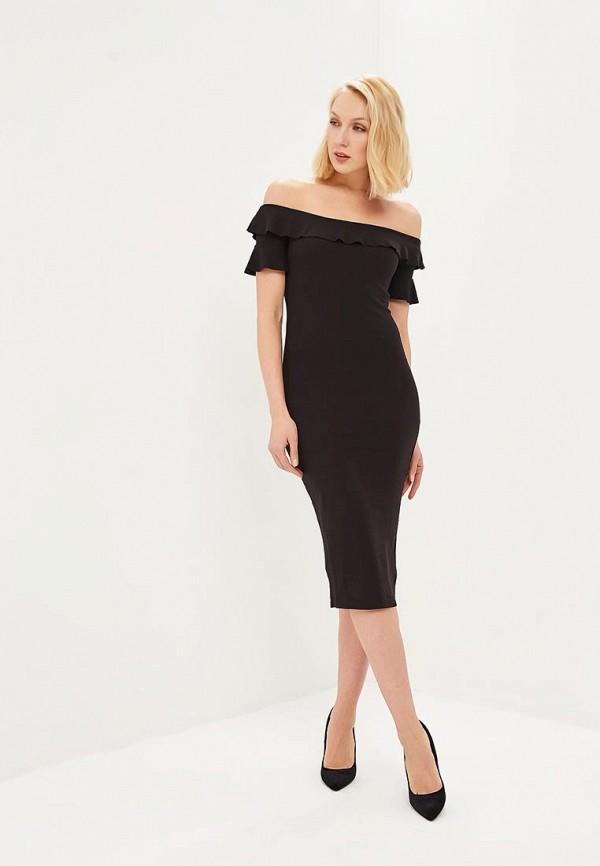 женское платье springfield, черное