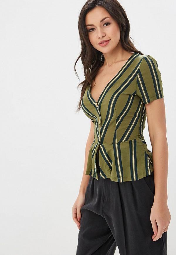женская блузка springfield, хаки