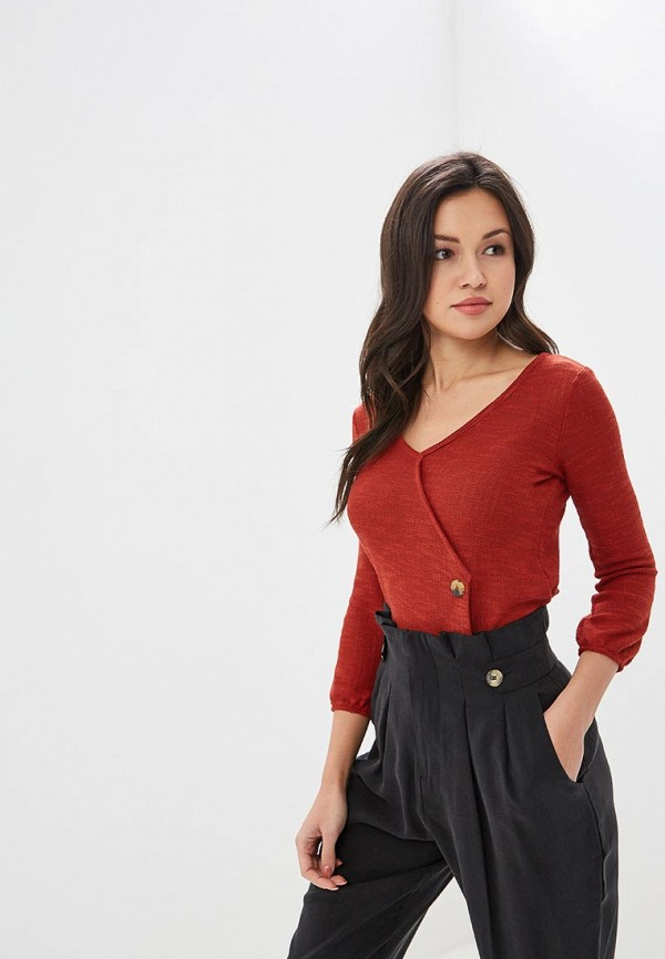 женский пуловер springfield, красный
