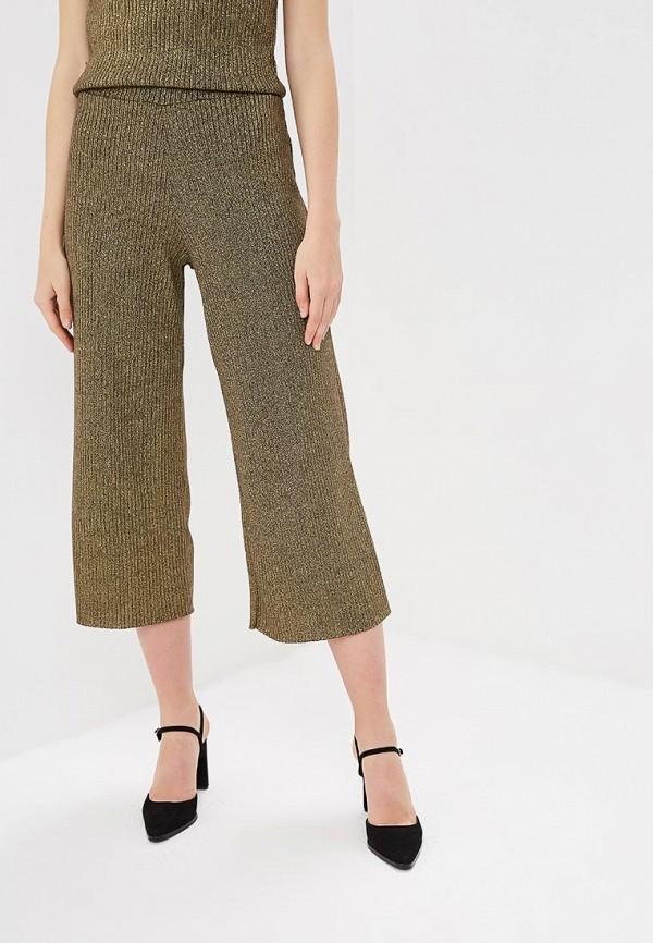 женские повседневные брюки springfield, золотые
