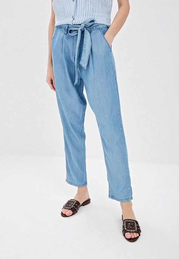 женские повседневные брюки springfield, голубые