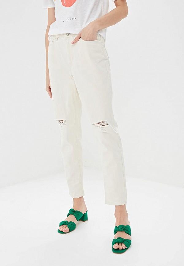 женские джинсы springfield, бежевые