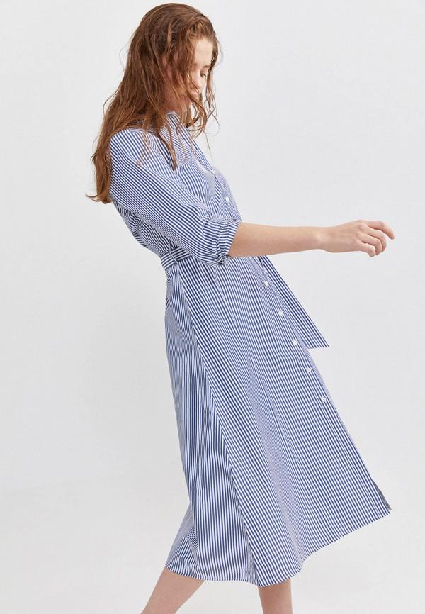 Фото 2 - Платье Springfield синего цвета