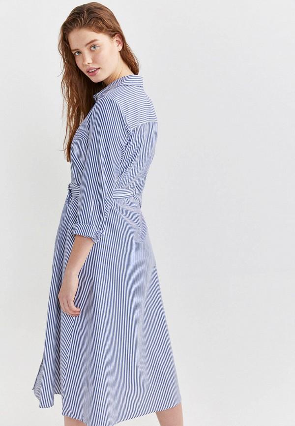Фото 3 - Платье Springfield синего цвета