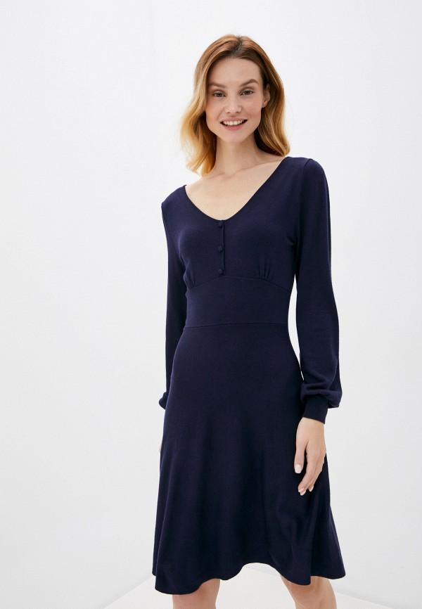 женское повседневные платье springfield, синее