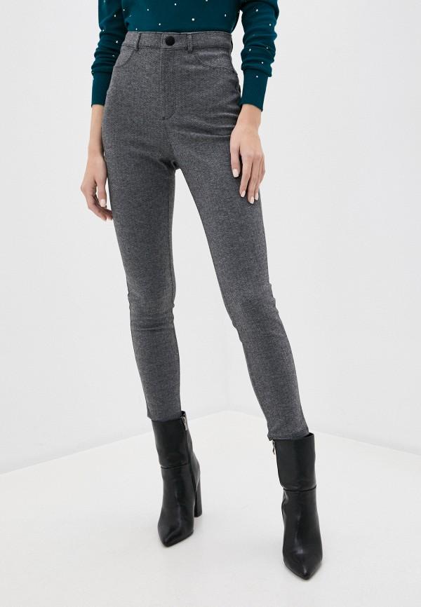 женские повседневные брюки springfield, серые
