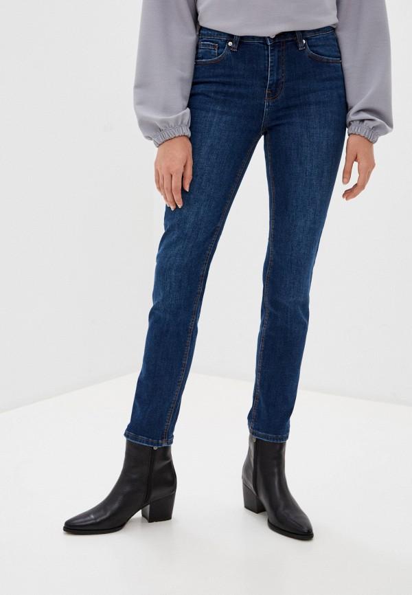 женские прямые джинсы springfield, синие