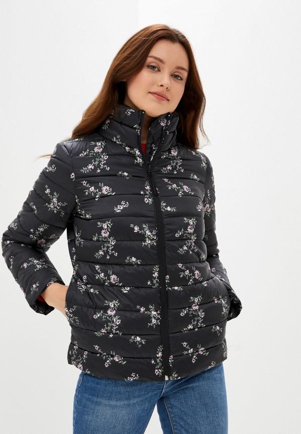женская куртка springfield, черная