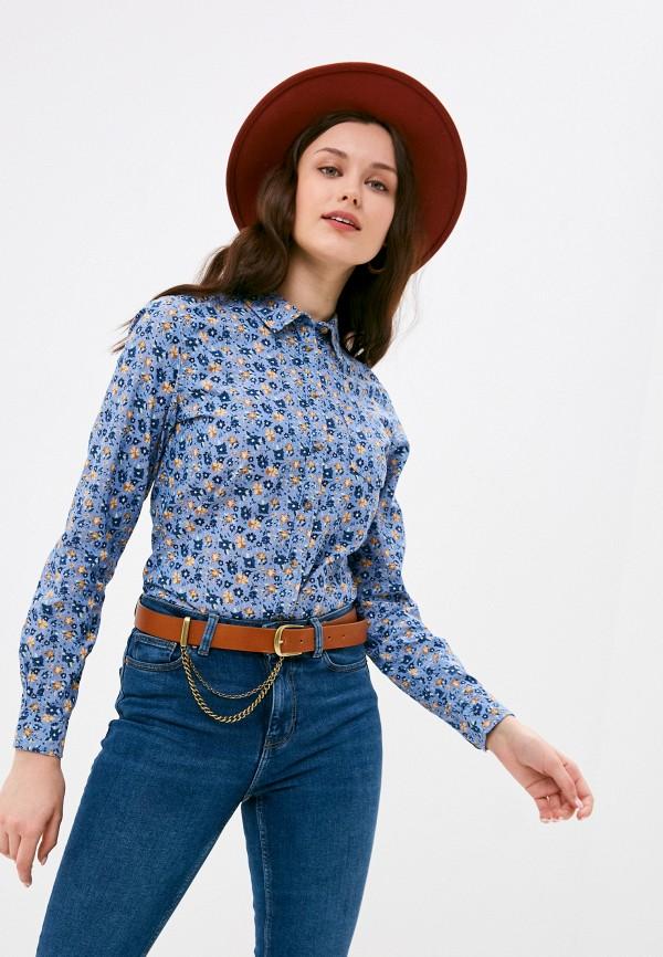 женская рубашка с длинным рукавом springfield, серебряная