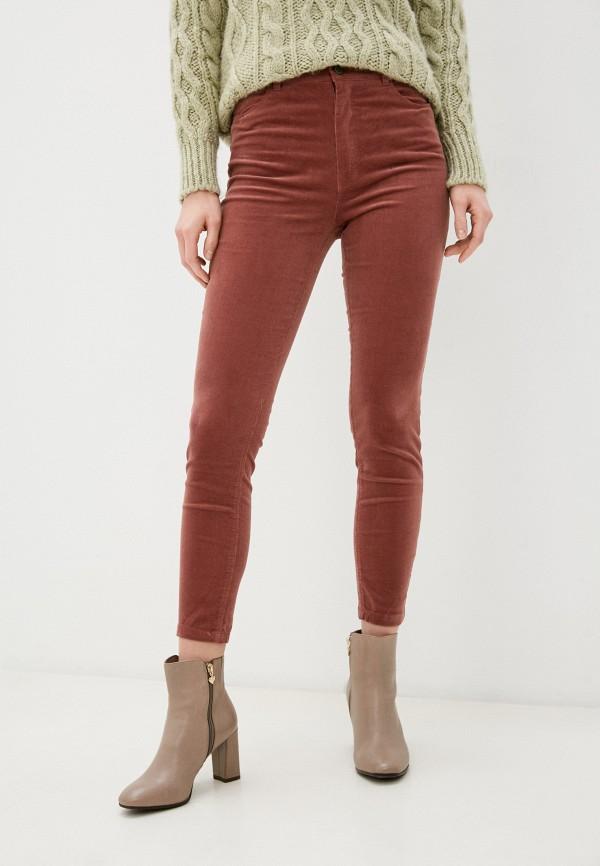 женские повседневные брюки springfield, розовые