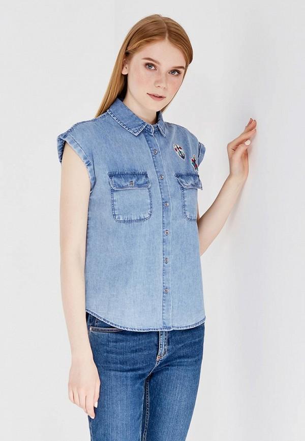 Рубашка джинсовая Springfield Springfield SP014EWTBC27 рубашка quelle springfield 1033224