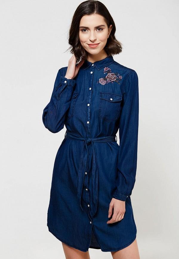 Платье джинсовое Springfield Springfield SP014EWXCT70