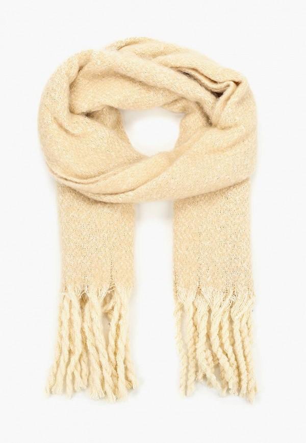 женский шарф springfield, бежевый