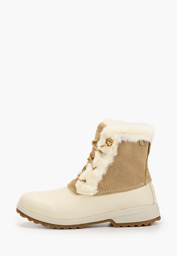 женские ботинки sperry top-sider, бежевые