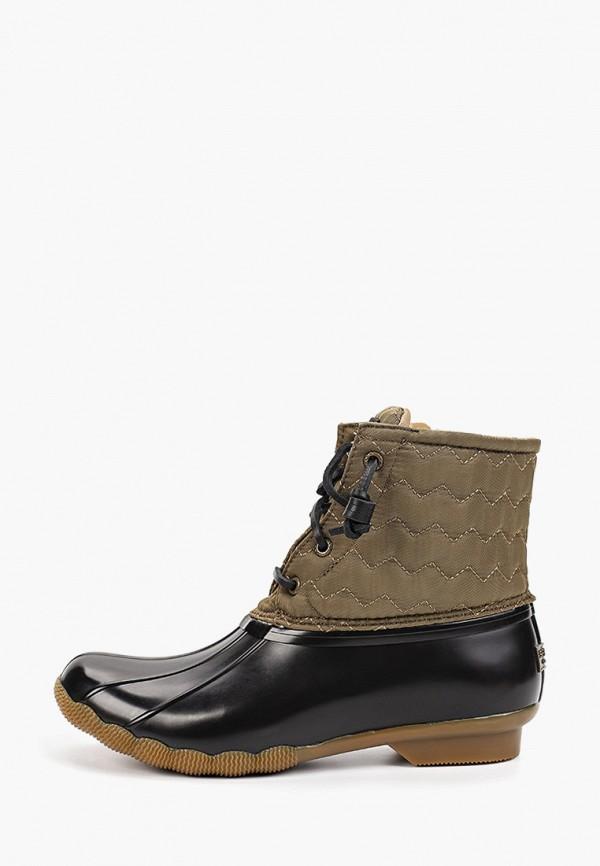женские ботинки sperry top-sider, хаки