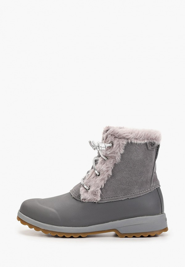 женские ботинки sperry top-sider, серые