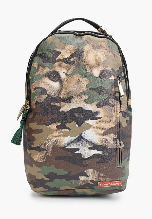 рюкзак sprayground для мальчика, хаки