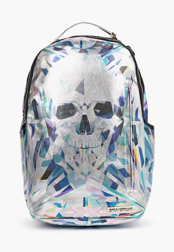 рюкзак sprayground для мальчика, серебряный