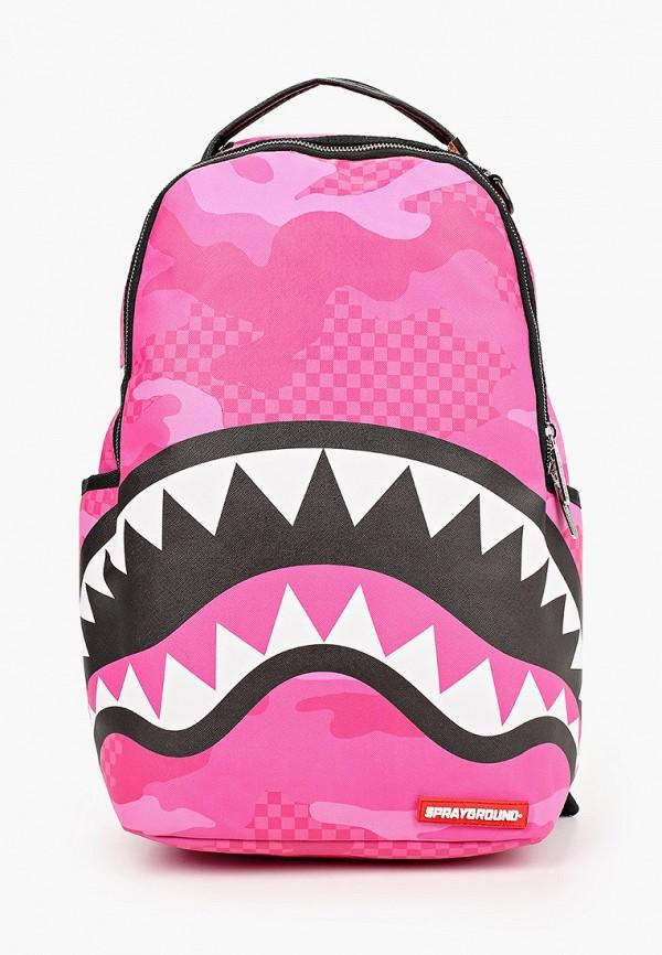 рюкзак sprayground для девочки, розовый