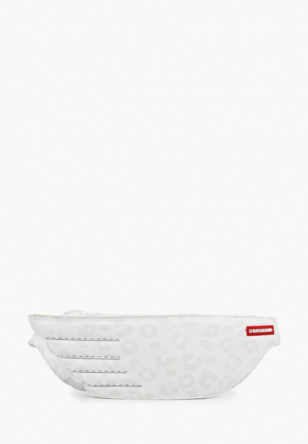 сумка sprayground малыши, белая
