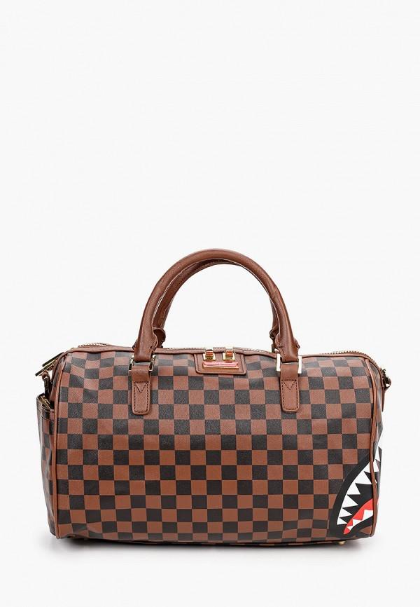 сумка sprayground малыши, коричневая