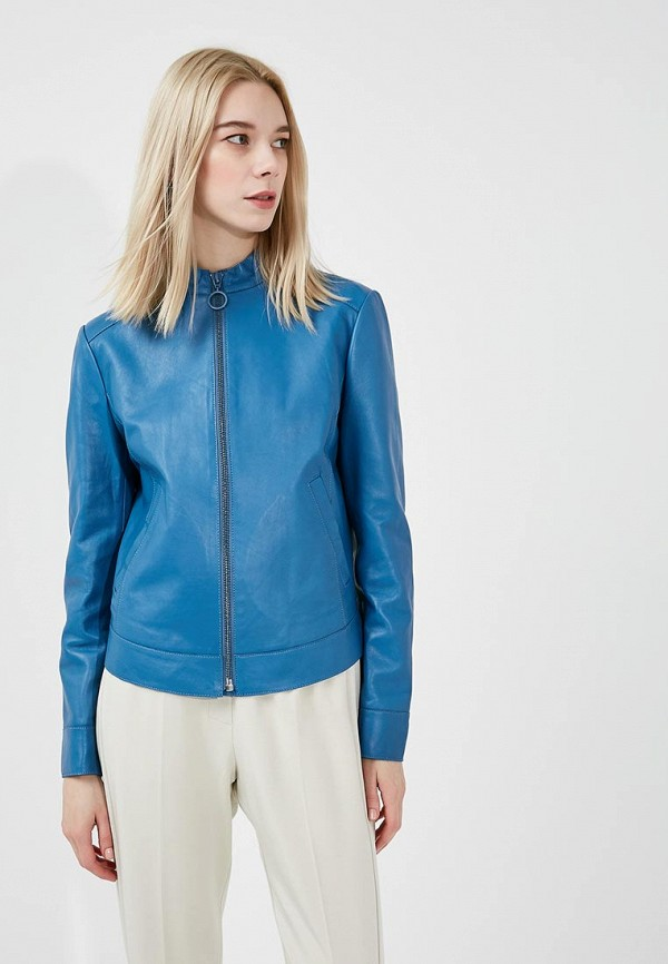 Куртка кожаная Sportmax Code Sportmax Code SP027EWADRZ5 блуза sportmax code sportmax code sp027ewadsc6