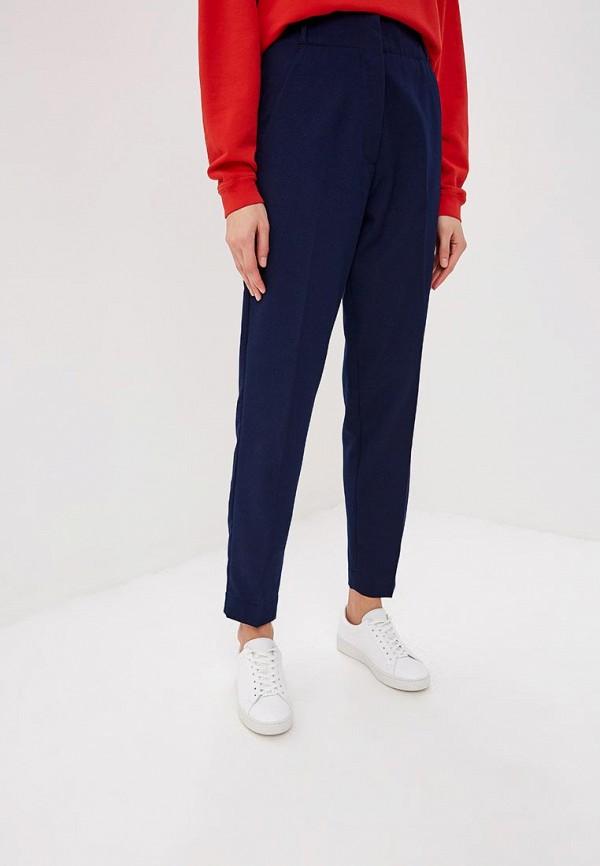 женские повседневные брюки sportmax code, синие