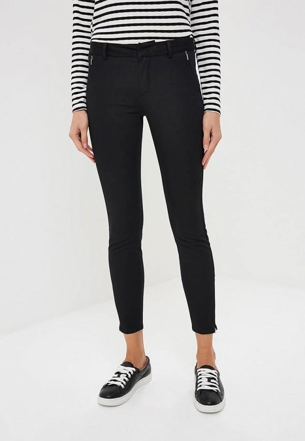 женские зауженные брюки sportmax code, черные