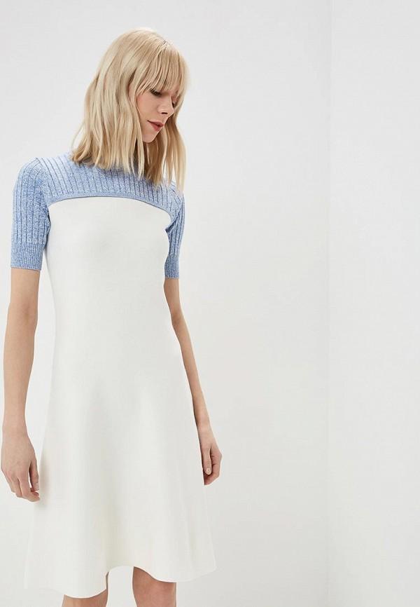 женское повседневные платье sportmax code, белое