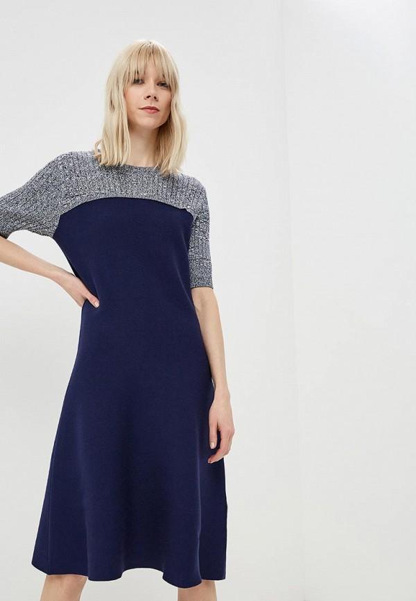 женское повседневные платье sportmax code, синее