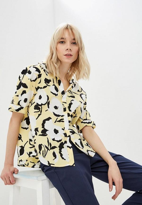 женская блузка sportmax code, желтая