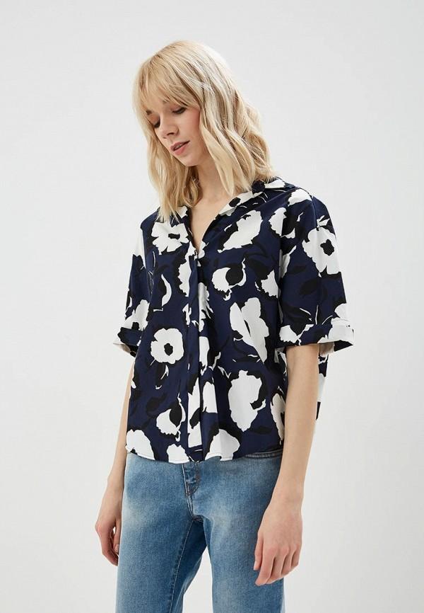 женская блузка sportmax code, синяя