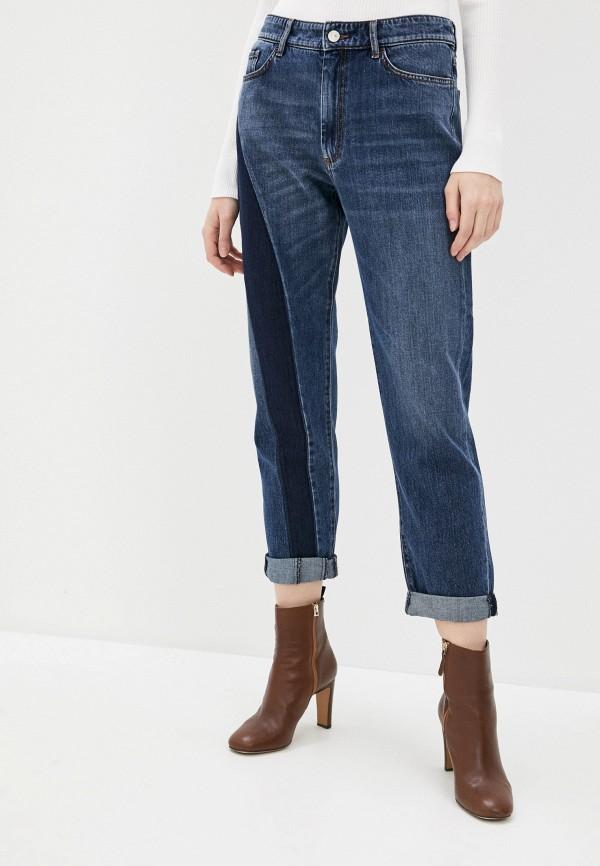 женские джинсы бойфренд sportmax code, синие