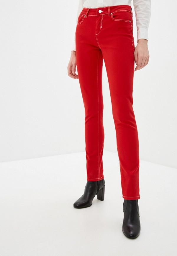 женские повседневные брюки sportmax code, красные