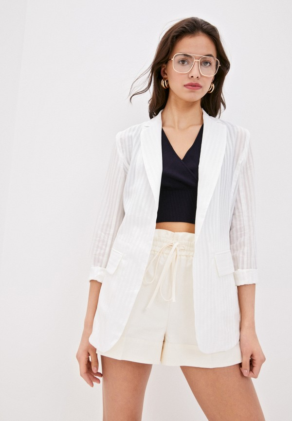 женский пиджак sportmax code, белый