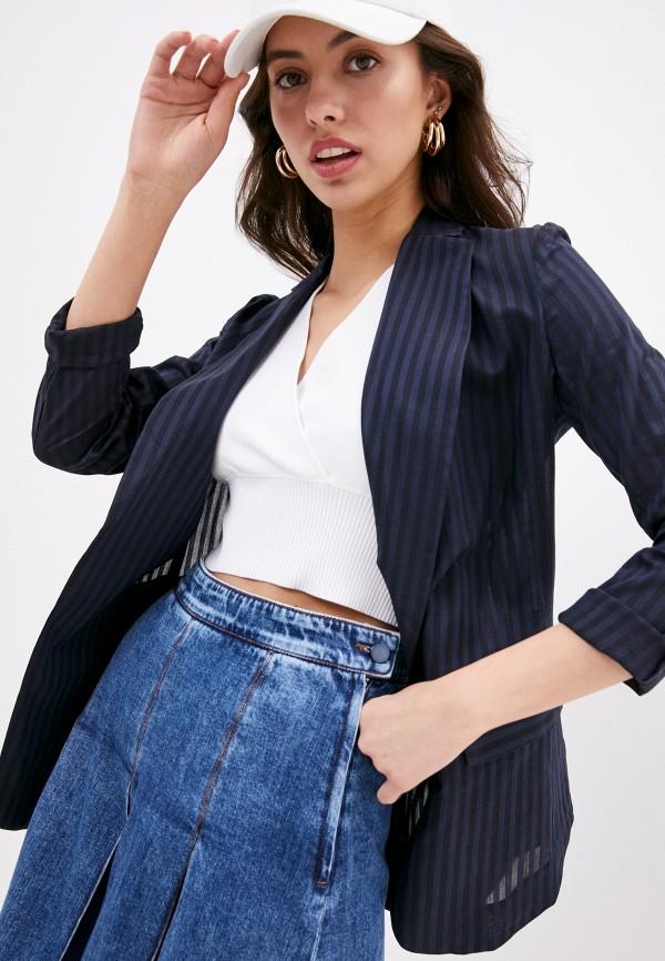 женский пиджак sportmax code, синий