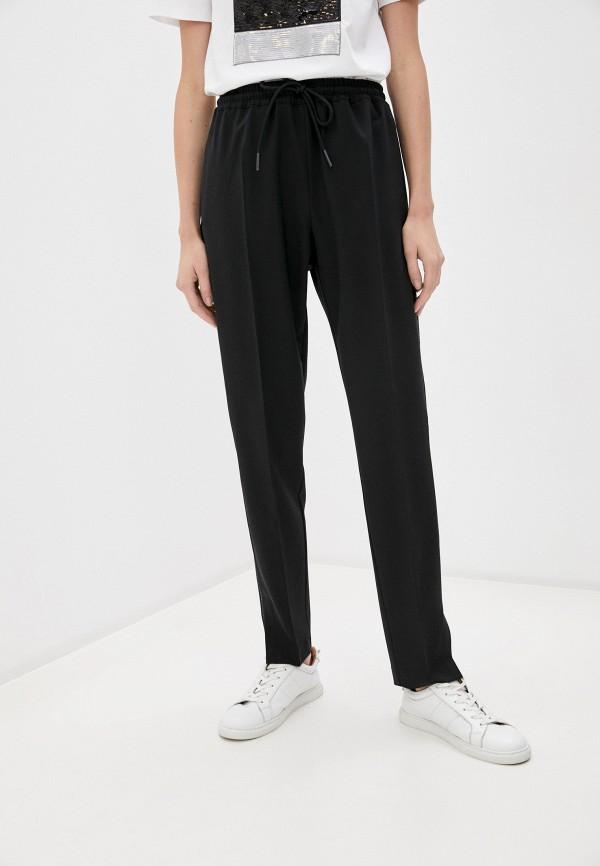 женские классические брюки sportmax code, черные