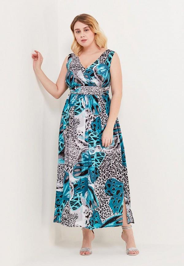 Купить Платье Sparada, sp028ewaicb3, бирюзовый, Весна-лето 2018