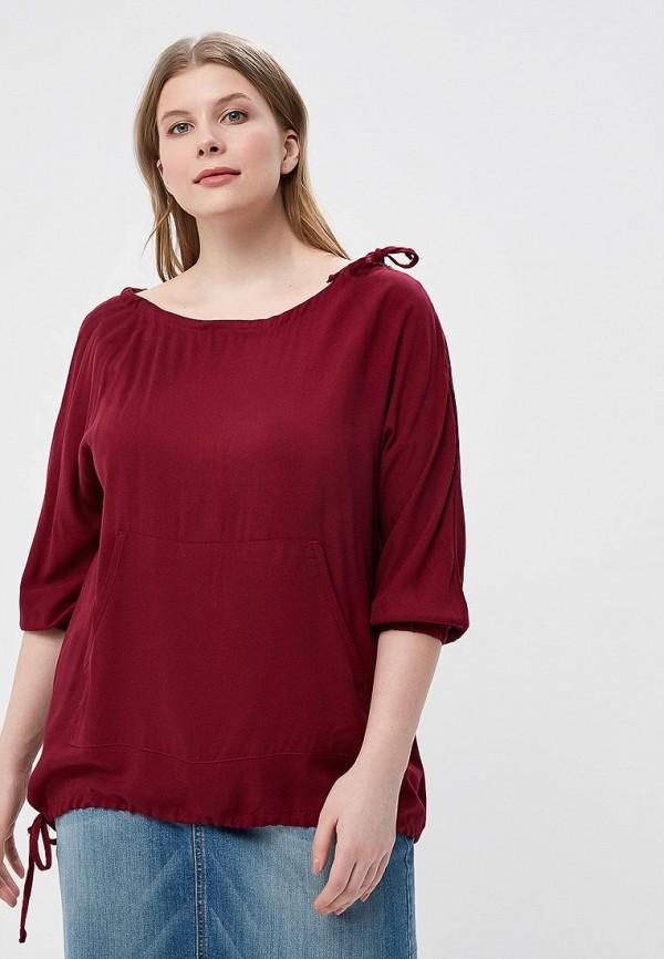 Купить Блуза Sparada, sp028ewbeer9, бордовый, Весна-лето 2018